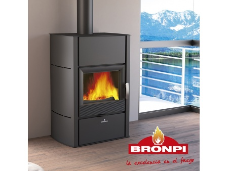 "Central heating stove ""Bronpi Hydronova-Plus"" 15kW"