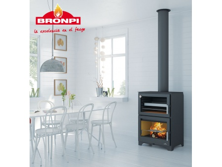 "Fireplace stove with oven Bronpi ""Murano"" 14kw"